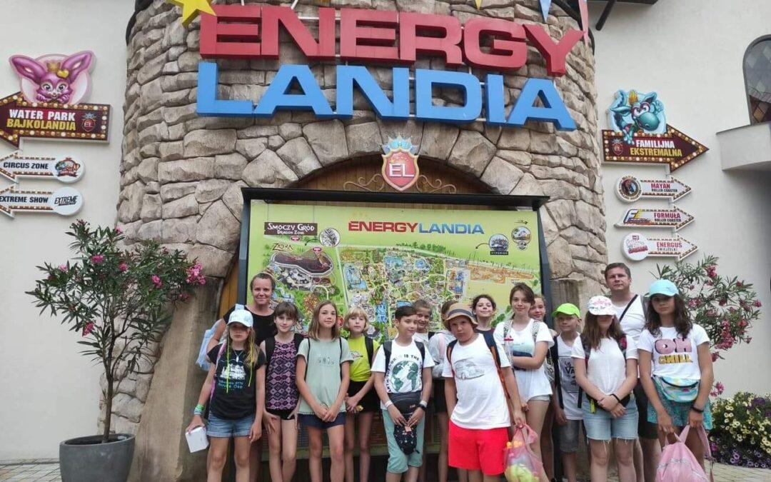 Wycieczka parafialnej scholii do Energylandii